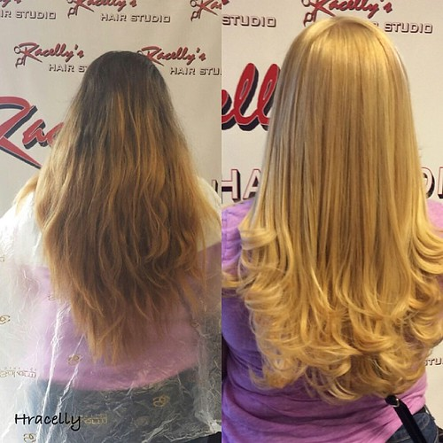 Be blonde done at racelly 39 s hair studio 1049 west side av for 201 twiggs studio salon