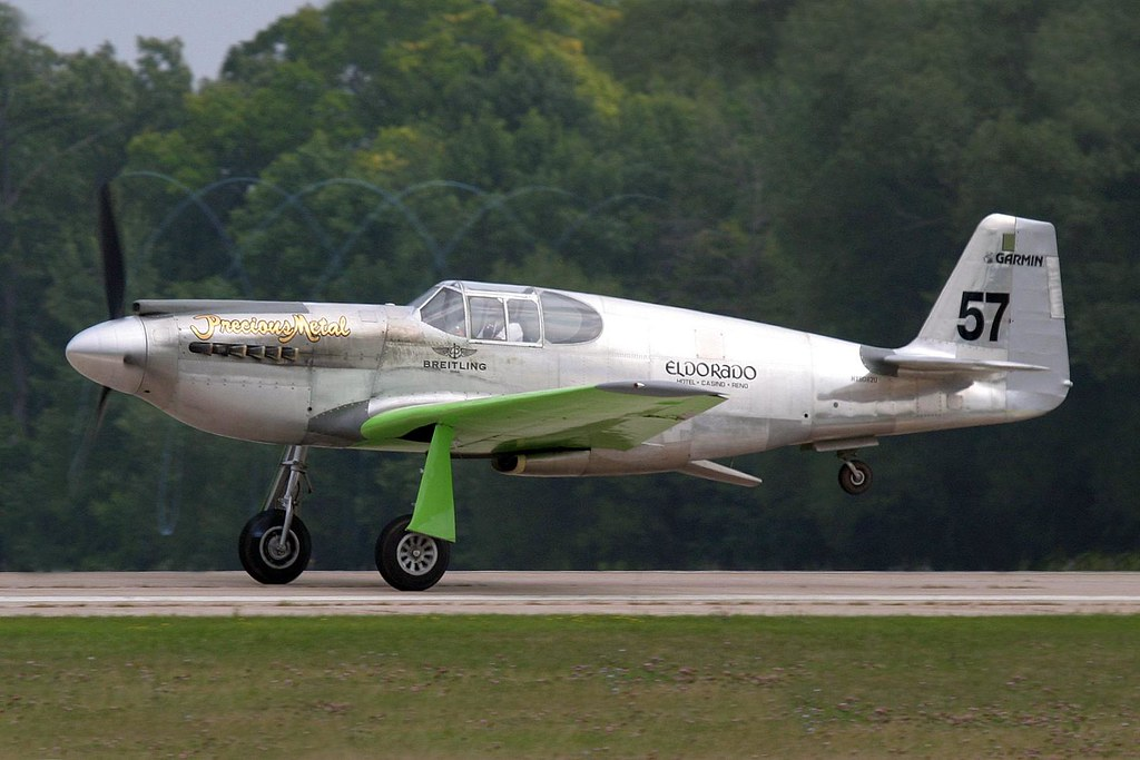 "2007 Mustang >> P-51A Mustang ""Precious Metal""   (AirVenture 2007)   D. Miller   Flickr"