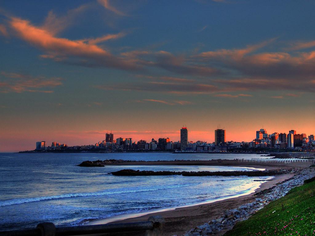 Oleo De Mar Del Plata Federico Aubone Flickr