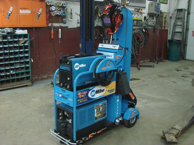 Miller Mig Welder For Sale >> Miller Dynasty Crazy Cart | I got my new Miller Dynasty ...