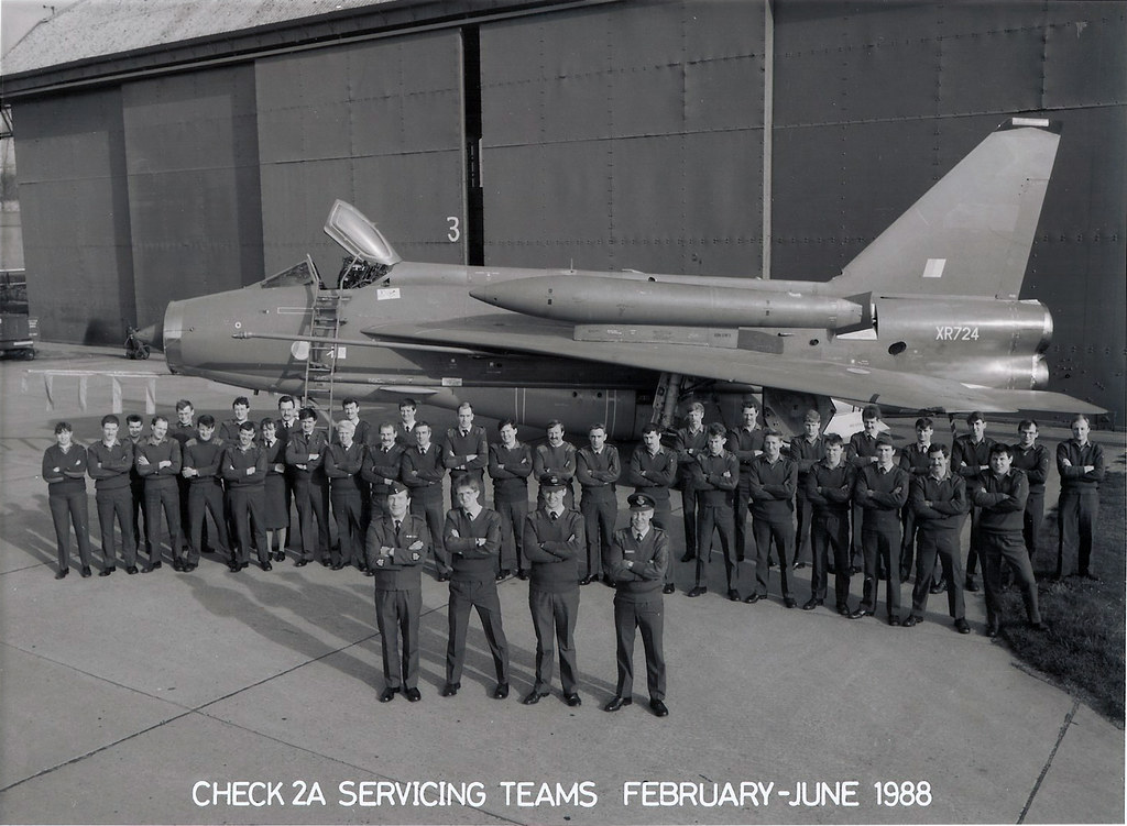 Raf Binbrook Asf Xr724 Check 2a Servicing Teams Feb