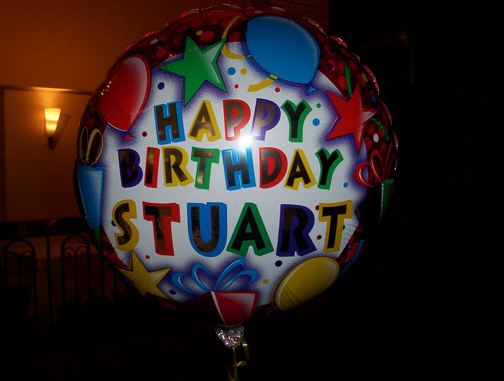 Happy Birthday Stuart Stuart Russell Flickr