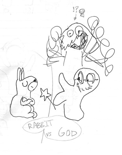 Rabbit vs. God-0.jpg | by Flyswatterpod
