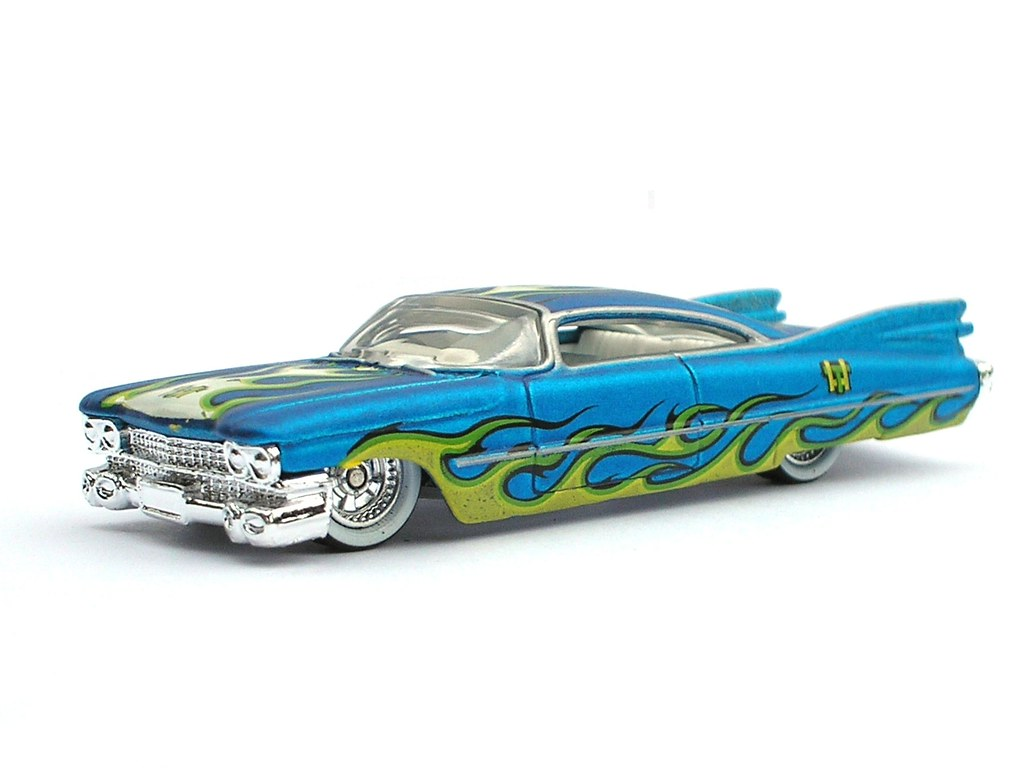 hotwheels treasure hunt mania cadillac close up flickr. Black Bedroom Furniture Sets. Home Design Ideas