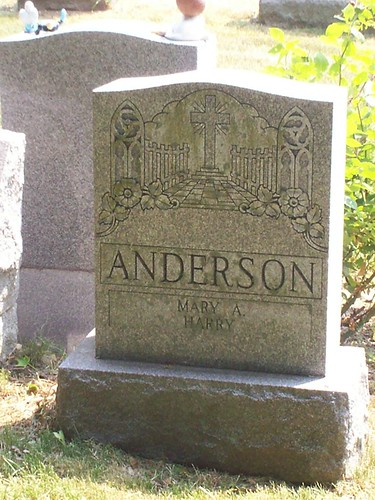 Anderson Headstone | by Andrea Christman