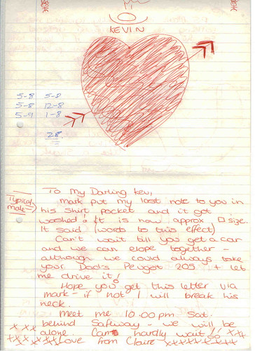 love letter 2 of 2 my mate kevin sent this to me