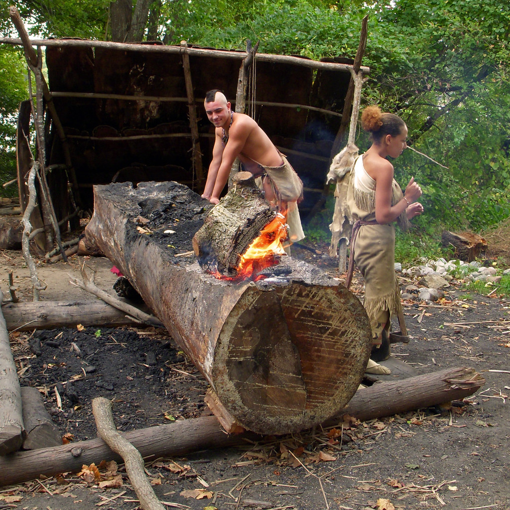 Wampanoag Canoe Burn And Scrape Method Tenuous Link