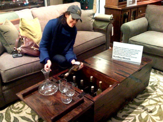 ... Maybe Coolest Coffee Table Ever? (opens Up To Reveal A Secret Liquor  Store!