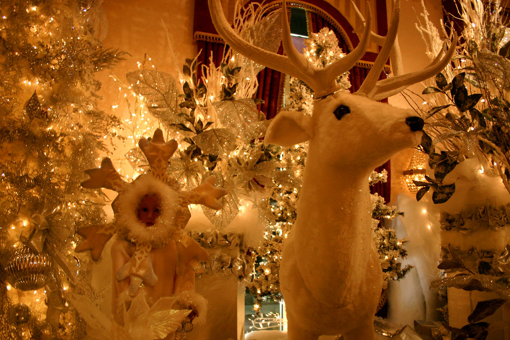 the horror that is the christmas decorations at salvatores italian gardens restaurant by brian mcgann