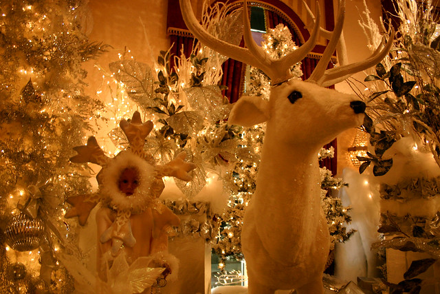 The Horror That Is The Christmas Decorations At Salvatores Italian Gardens Restaurant Flickr