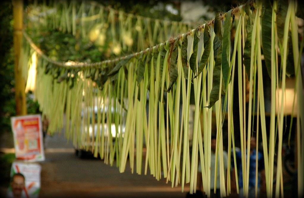 Maavilai Thoranam Festoons Thoranam Made Out Of Mango
