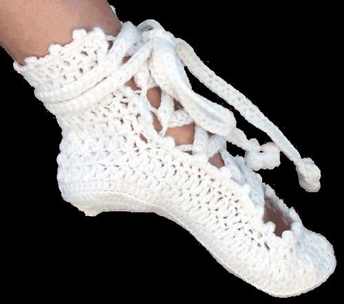 Ballerina Slippers Crochet Pattern Find This Design At Flickr