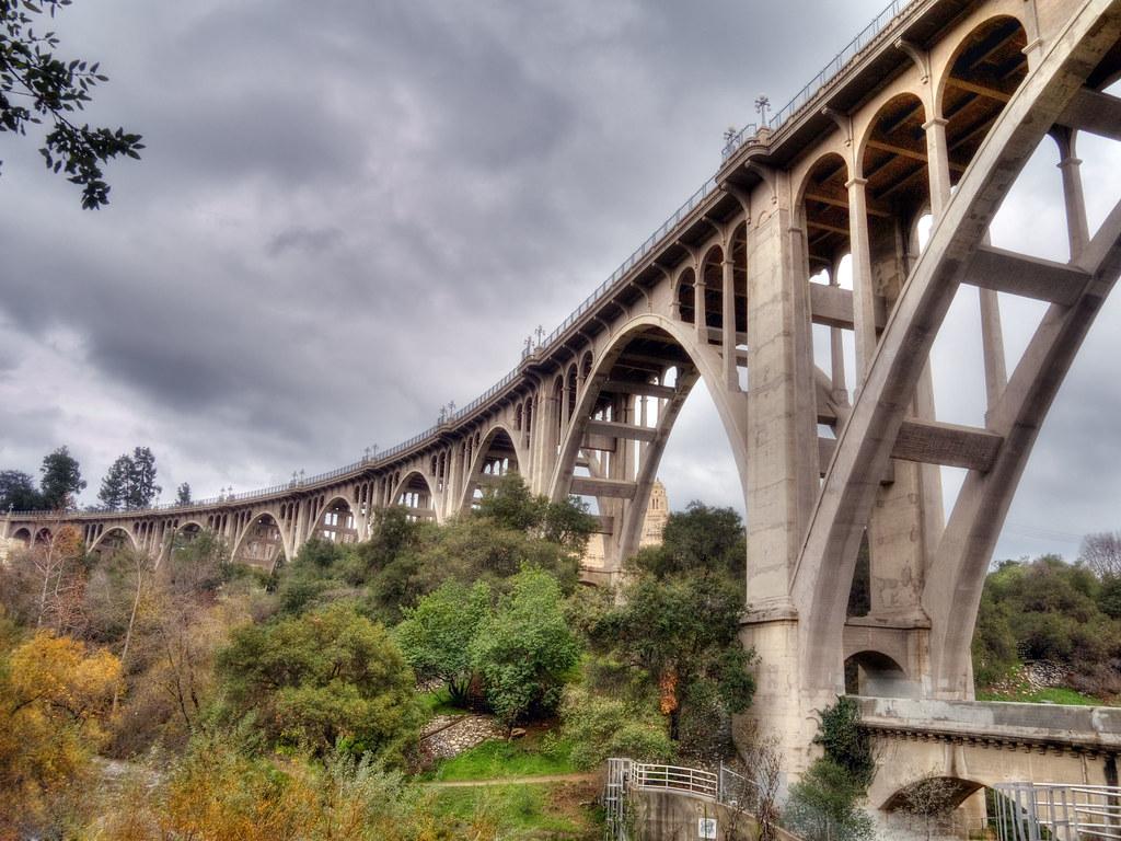 Arroyo Seco Bridge | Old Highway 66 over the Arroyo Seco