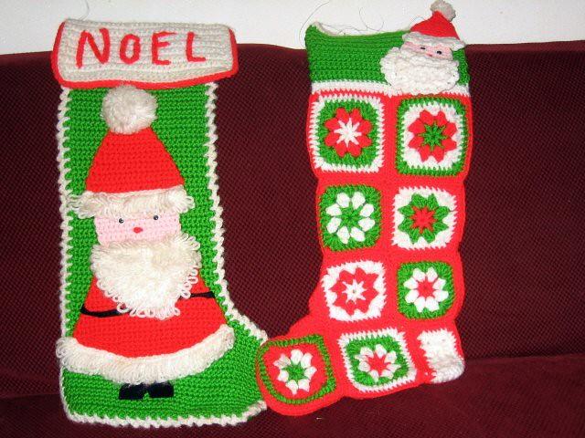 christmas stockings by nastybrat crochetchristmas stockings by nastybrat - Crochet Christmas Stockings