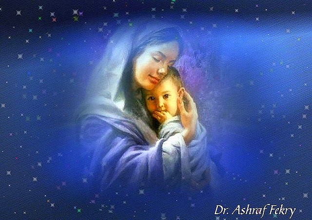 Virgin mary and jesus christ virgin mary and her child - Child jesus images download ...
