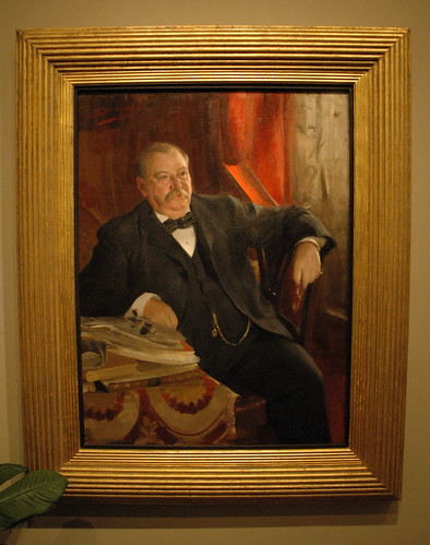 """Grover Cleveland"" by Anders Zorn (1899) 