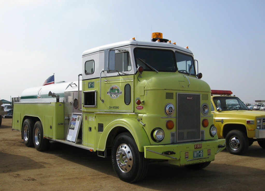 Peterbilt Contract Fire Truck COE - 1956 | Antique Truck ...