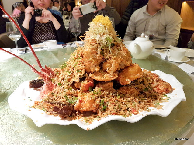 Famous Stir-fried Lobster Tower