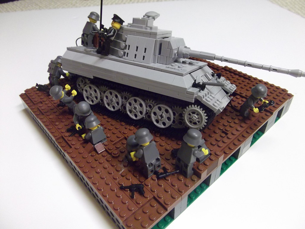 lego ww2 tank instructions