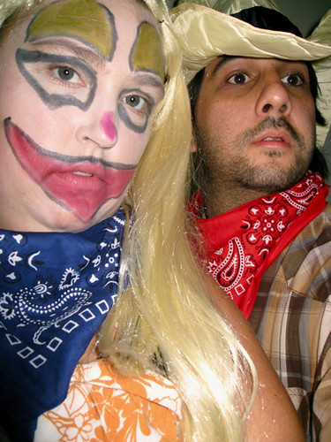 ... Anna Nicole Rodeo Clown and The Bull Rider | by Kealoha1981  sc 1 st  Flickr & Anna Nicole Rodeo Clown and The Bull Rider | Halloween Partyu2026 | Flickr