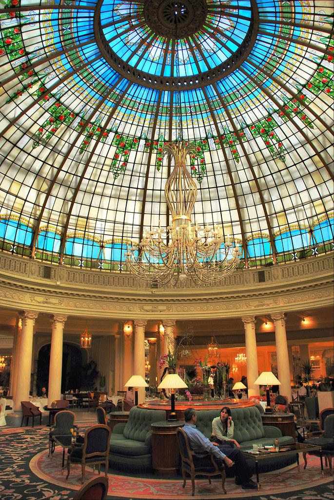 Madrid hotel palace c pula de la rotonda en el - Hotel el quijote madrid ...