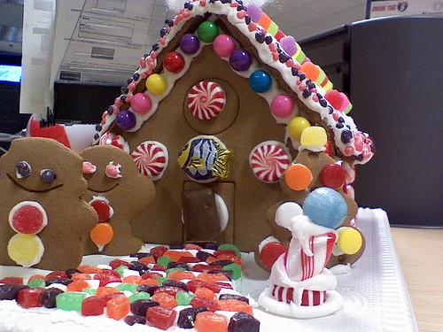Our Team's Gingerbread House (Close Up) | by heath_bar
