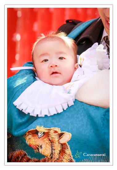 お宮参り お食い初め 深川神社 愛知県瀬戸市 赤ちゃん 双子 着物 フォトスタジオ 写真館 人気 オススメ ランキング