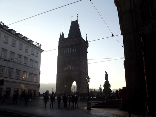 Old Town Bridge Tower..