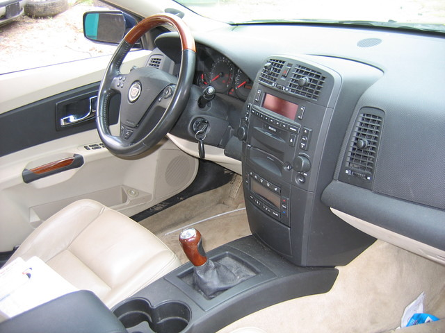 ... 03 Cadillac CTS Interior  Stock #0201p9 | By Ecautosalvage