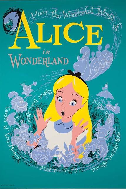 Alice In Wonderland Poster 1951