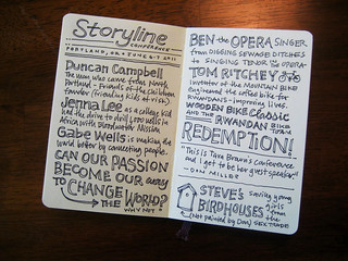 Storyline Sketchnotes | by Mike Rohde