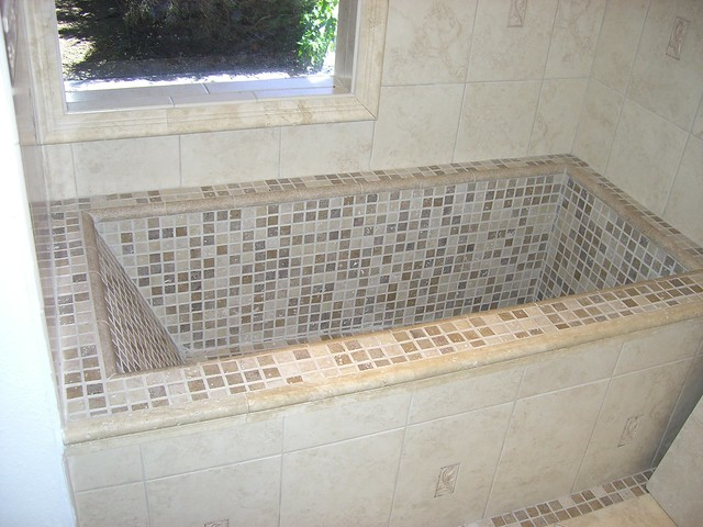Custom tile tub flickr photo sharing for Custom tubs and showers