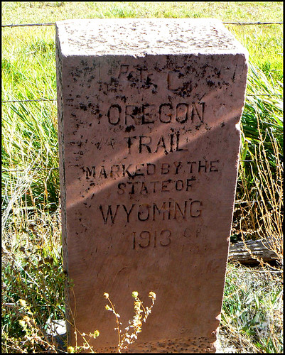 Oregon Trail Marker | by Western Bucking Horse