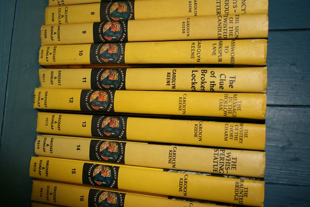Nancy Drew mystery books