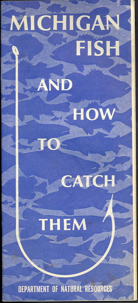 Fishing late 1960s michigan dnr collectible fisheries divi for Michigan dnr weekly fishing report