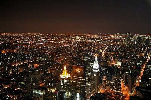 New York By Night from the Empire State Building | by Franco Caruzzo
