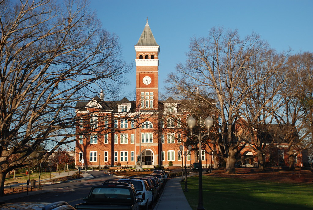 Clemson | Clemson Symbol University  Tillman of Hall,