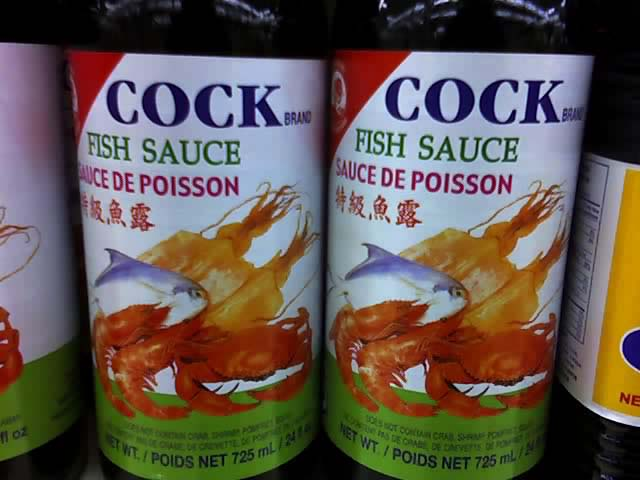 26 10 07 2005m cock brand fish sauce not to be for Fish sauce brands