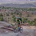 Early hours on the Moab Rim Ride