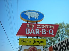 Old Clinton Bar-B-Q | by Babysitter Of The Damned