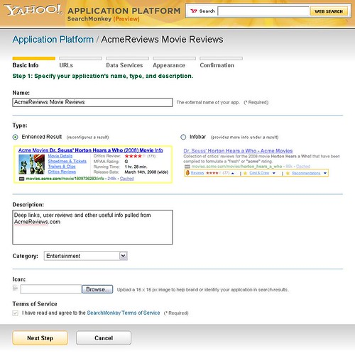 Yahoo! SearchMonkey Developer Tool | by Yahoo! Search Blog