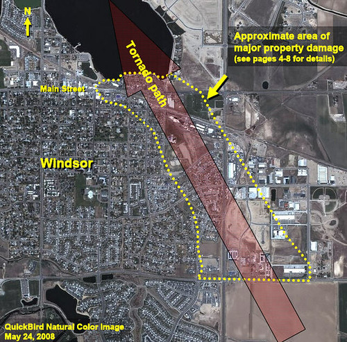 QuickBird Imagery (DigitalGlobe) Windsor Colorado ...