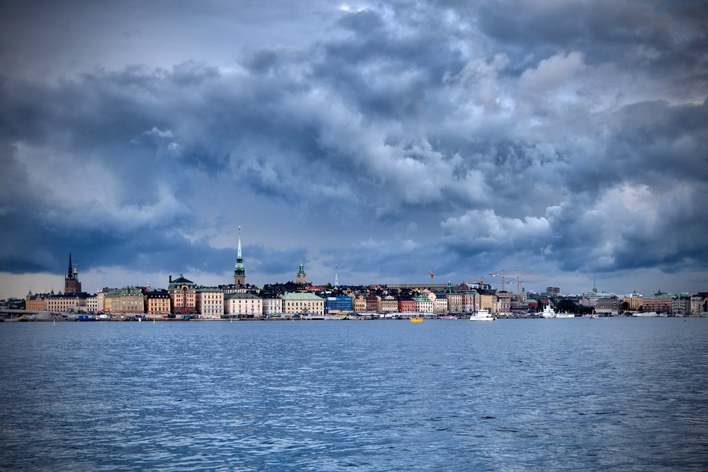 Clouds Over Gamla Stan