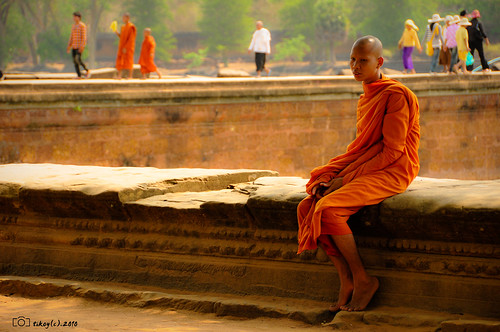 loner monk | by arch.tikoy