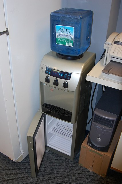 New Water Cooler With Steve S Mini Fridge Steve Kownacki