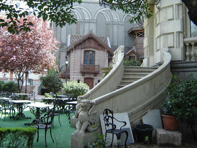 Jard n del palacio de linares casa de am rica madrid for Casa y jardin tienda madrid