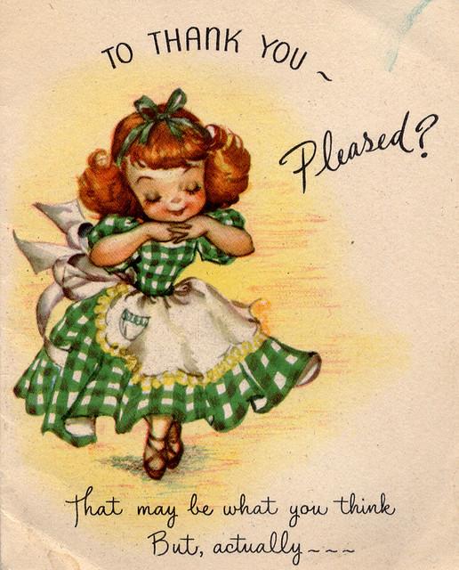 vintage thank you card outside profkaren flickr