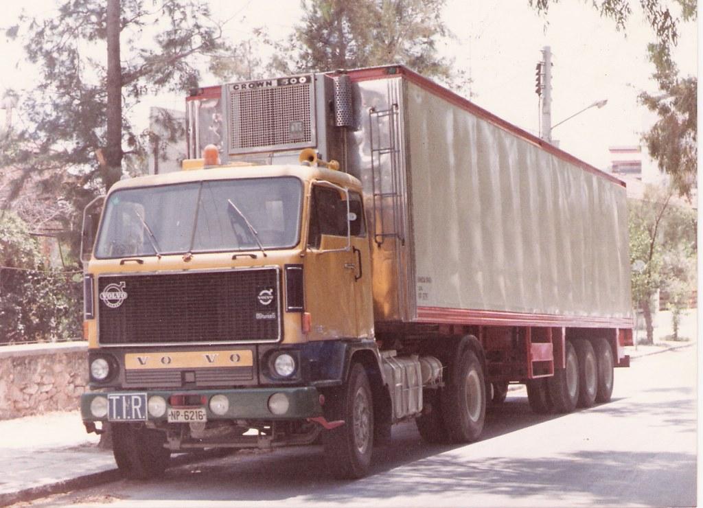 Volvo F89 - FrigoTruck-ΝΡ 6216 | The first frigo-truck of my… | Flickr