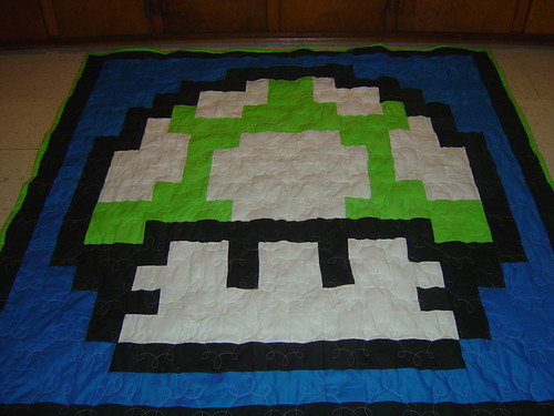 Another Mushroom Quilt | by Chasing Threads