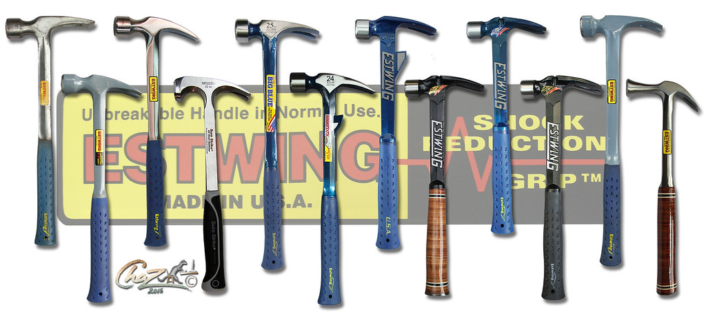 estwing steel framing hammers by chazferret